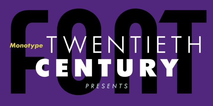 [Font] Twentieth Century™
