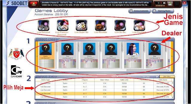 Cara Membuat Akun Judi Sbobet Casino