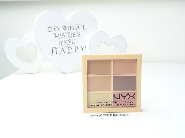 NYX Conceal Correct & Contour Palette