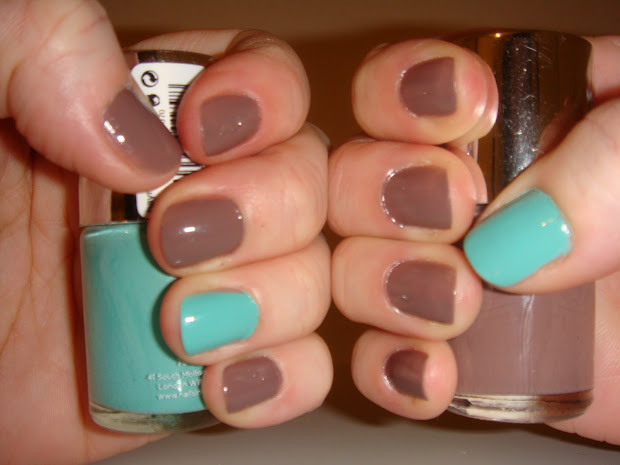 becky's mani monday - accent