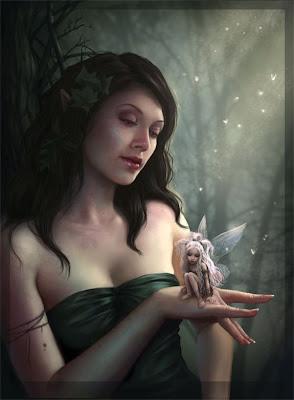 Mujer con Hada