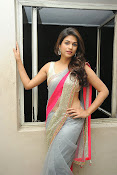 Shraddha das Latest Photos in Saree-thumbnail-11