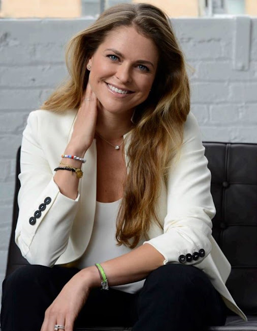 Princess Madeleine of Sweden changed her profile photo on Facebook page.