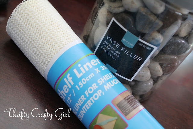 Thrifty crafty girl diy stone welcome mat for River stone bath mat