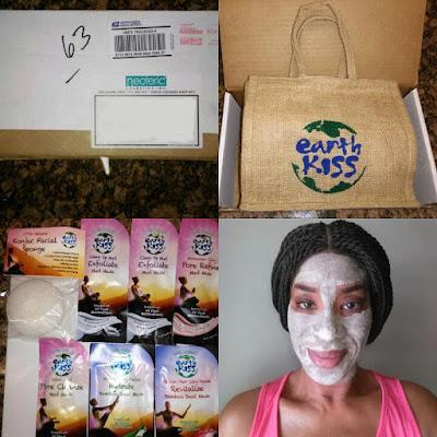 Earth Kiss's Clean Up Mud: Exfoliate Mud Mask