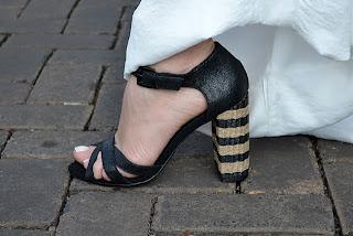 Novos modelos sandálias salto bloco 2014