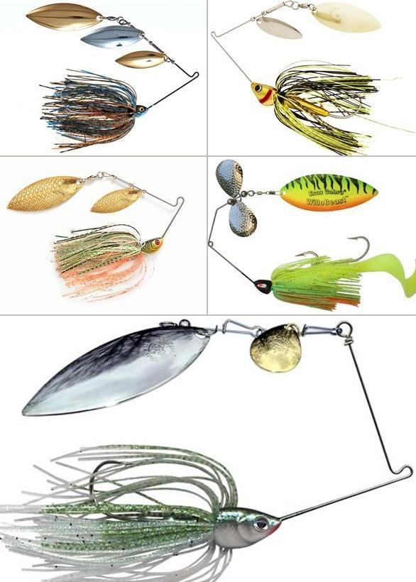 рыболовные приманки спиннербейты
