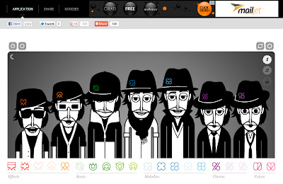 Incredibox music sequencer