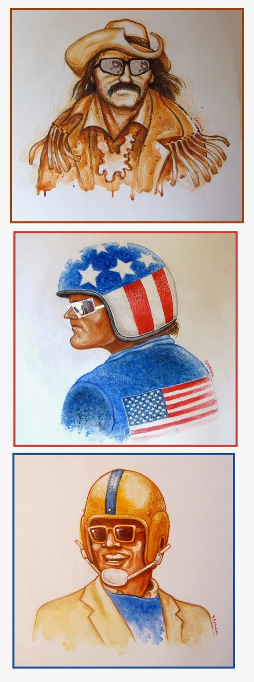 The Easy Rider portraits