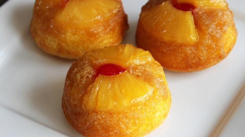 Pineapple Cupcakes Using Cake Mix