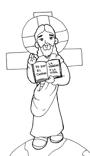 Dibujos para catequesis: JESÚS MAESTRO