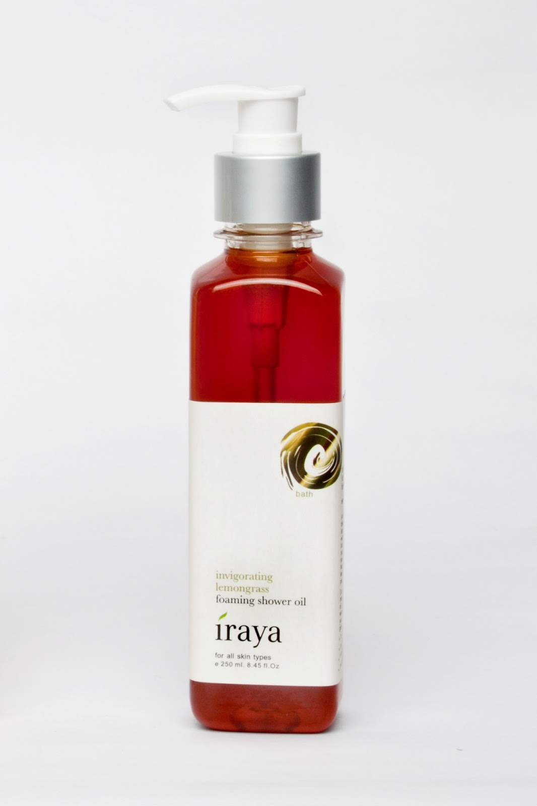 Iraya Invigorating Lemongrass Foaming Shower Oil
