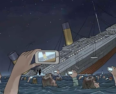 Naufrágio do Titanic fosse hoje