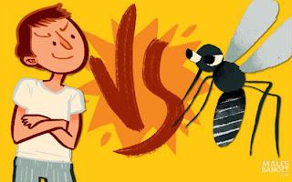 4 Tipe Sikap Orang Dalam Menghadapi Nyamuk [ www.BlogApaAja.com ]