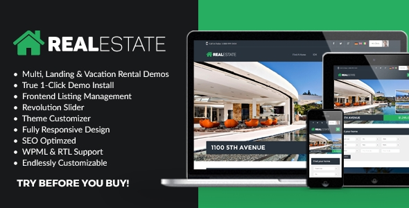 download WP Pro Real Estate 7 - Responsive WordPress Theme
