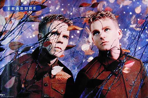 Erasure Posted by erik hogstrom at 450 AM Labels british rock