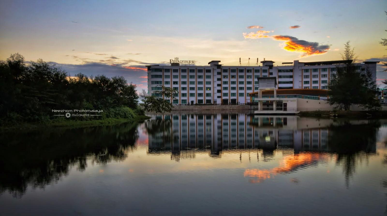 Prinzpark hotel dan Sunrise di Lagun Kuala Ibai