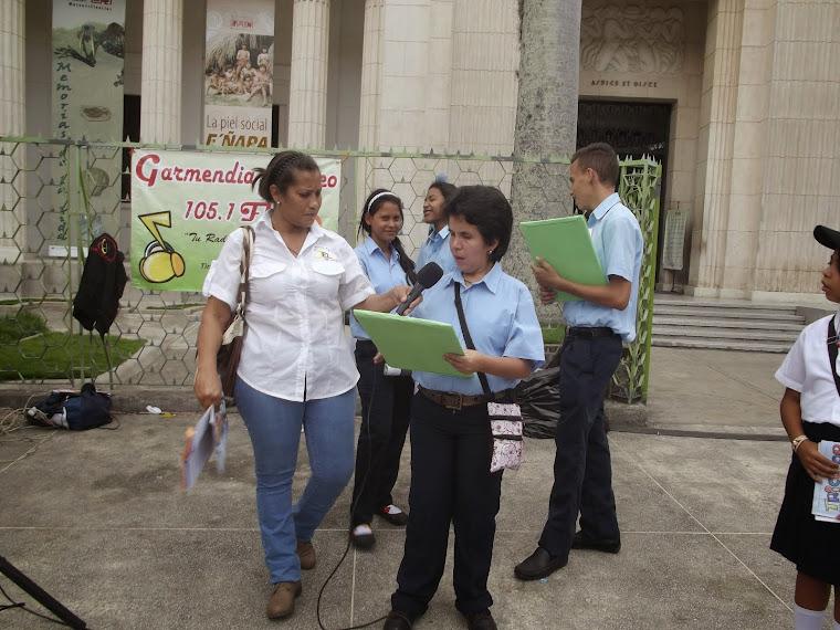 PARTICIPACION DEL TEL  MENCA DE LEONI EN LA CELEBRACIÓN DE LOS 15 ANOS DE LAS ESCUELAS BOLIVARIANAS