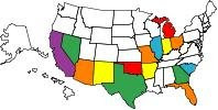 STATES I'VE BEEN TO ON THE MC