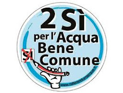 """L'ACQUA E' BENE COMUNE: VOTA """"SI"""" AL REFERENDUM DEL 12-13 GIUGNO"""