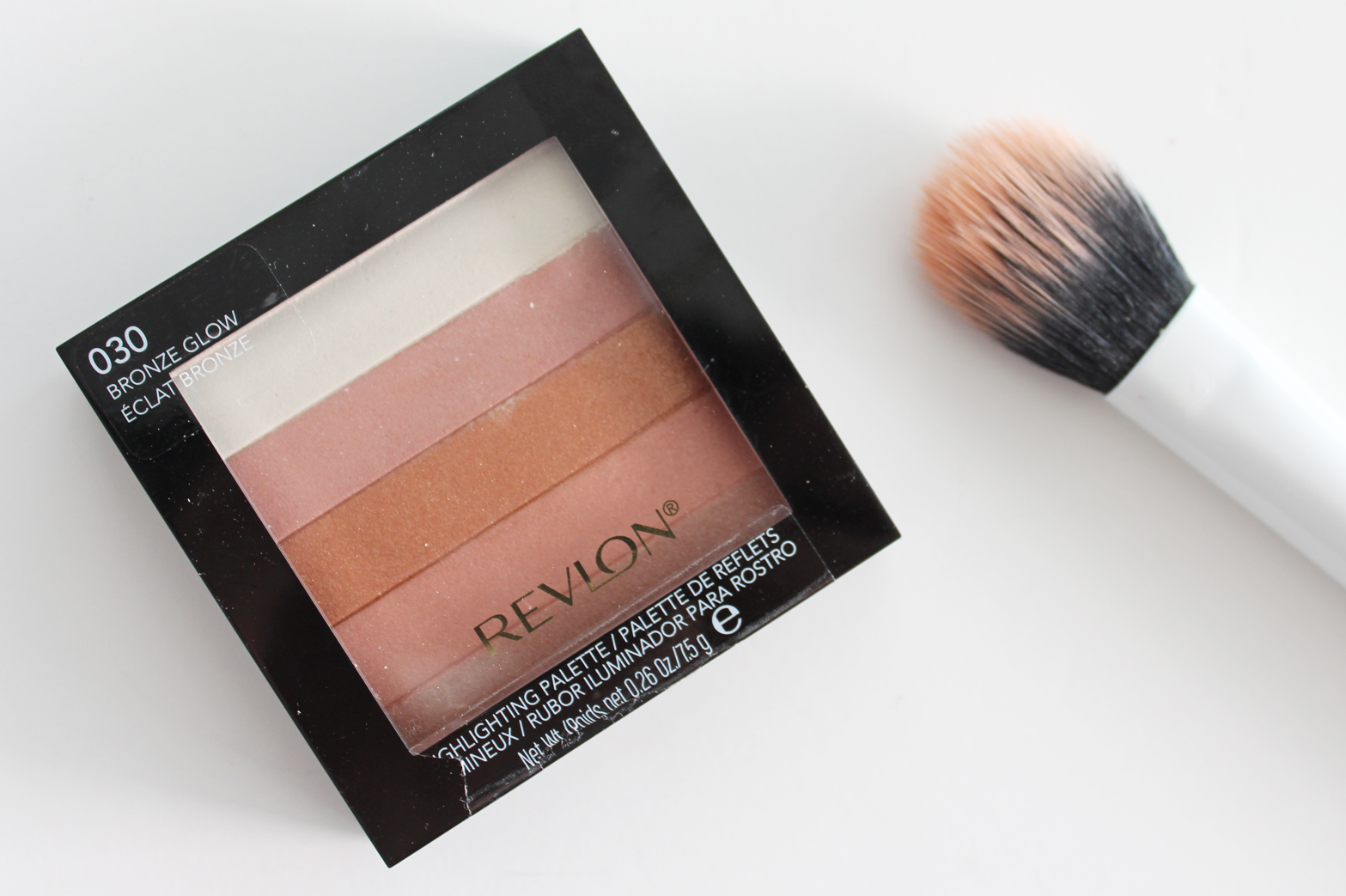 REVLON | Highlighting Palette in 030 Bronze Glow - Review + Swatches - CassandraMyee
