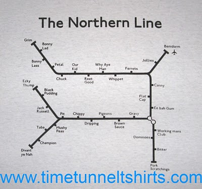 The Northern Line - London Underground t-shirt