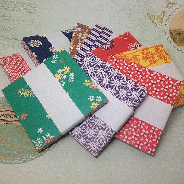 Chiyogami washi origami paper lovelyelement - Origami origami origami ...