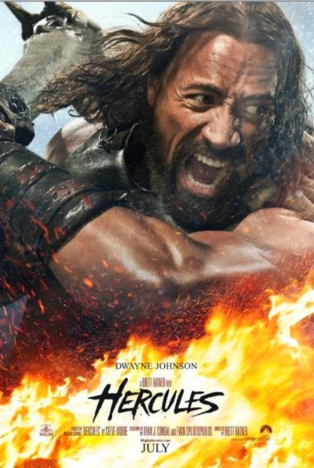 Hercules, starring Dwayne Johnson, MOVIE TRAILER