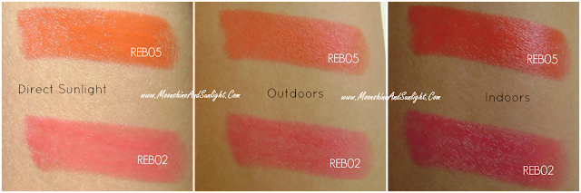 Maybelline Rebel Bouquet REB02, REB05 Review and Swatch || #SpringUpYourSummer