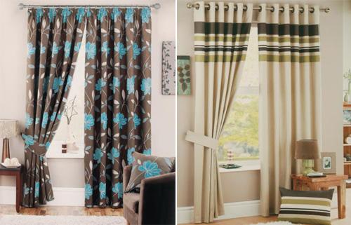 Decorar casa y hogar - Ver telas de cortinas ...