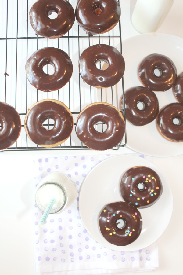 chocolate frosted donuts