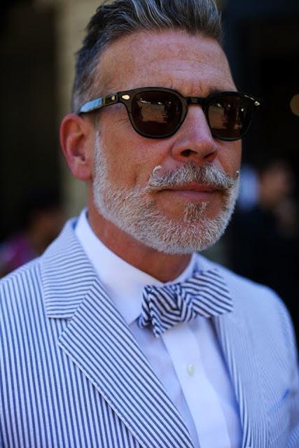 Estremamente TAGLIO DI CAPELLI DI Nick Wooster - baffi, barba e rasatura  AV12