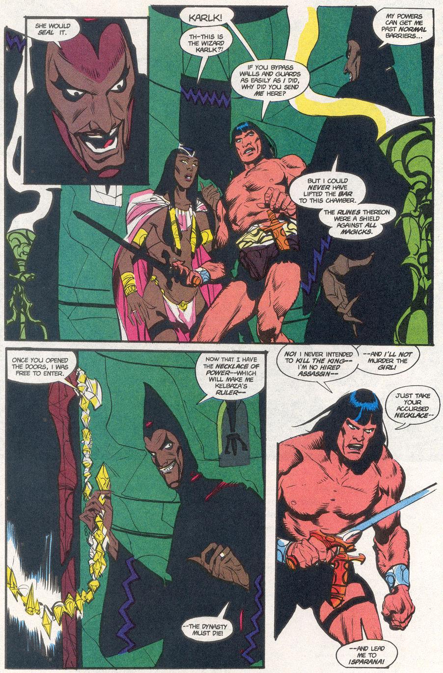 Conan the Barbarian (1970) Issue #265 #277 - English 7
