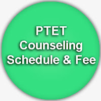 PTET Counseling Fee www.ptet2015.org