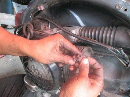 Tips Simple Merawat Motor Vespa