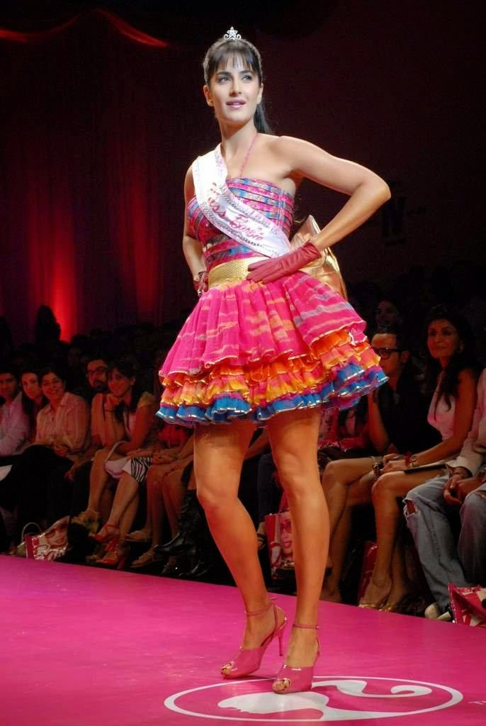 Katrina Kaif as barbie doll walks on the ramp