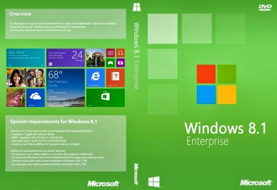 Windows 8.1 Enterprise RTM x86 En-US VL Leaked Version Untouched Original DvD copy