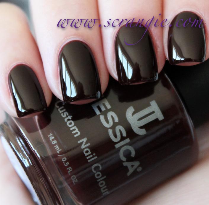 Crimson Nail Polish: Scrangie: Jessica Spicy Dream Collection Fall 2012