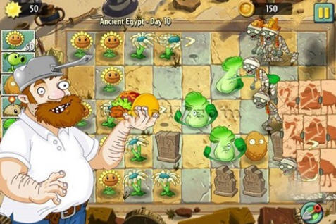 Plants vs Zombies 2 blockbuster