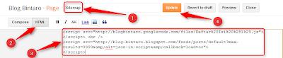 Membuat Daftar Isi Otomatis (SiteMap)