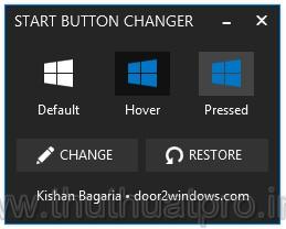 Thay đổi nút Start trên Windows 8.1