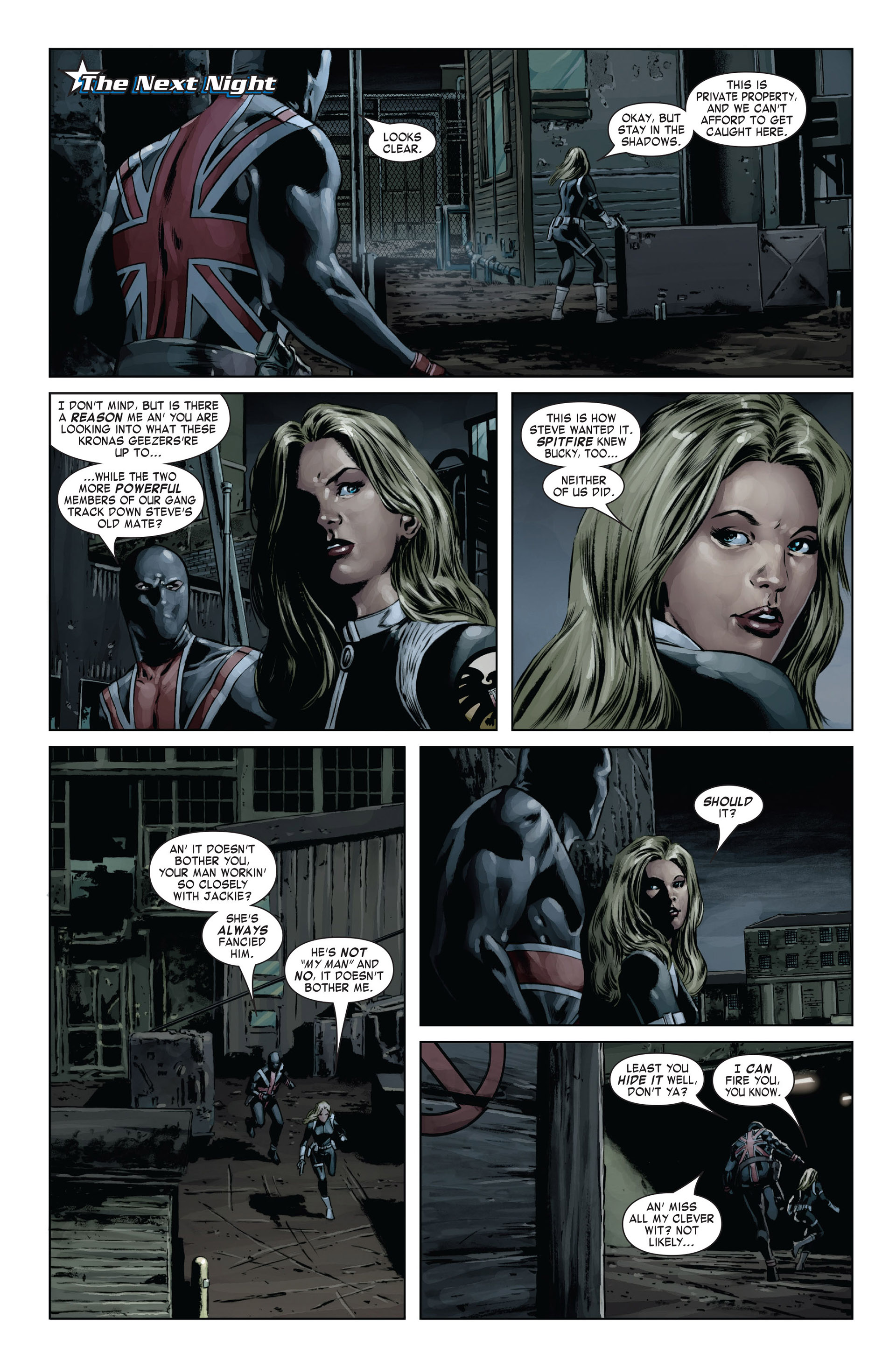 Captain America (2005) Issue #19 #19 - English 14