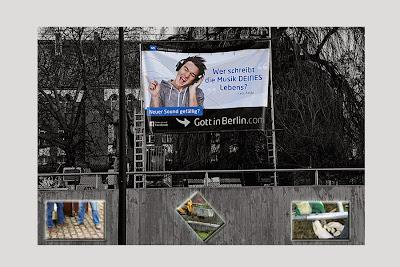 Banner Südkreuz - Zwischenstand; Photo by Bibiana Johannsen