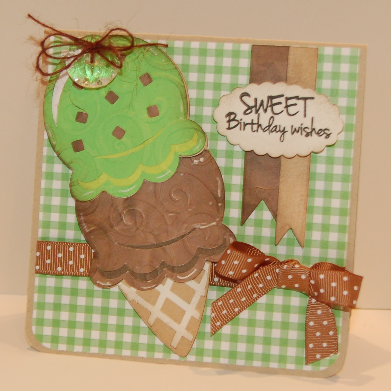 My Craft Spot: DT Post By Sherrie