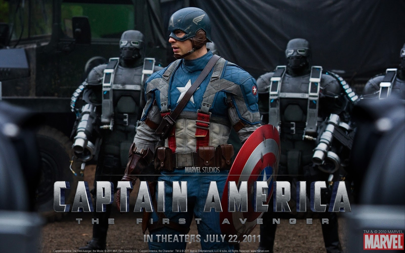 Marvel Studios The First Soldier Captain America Wallpaper