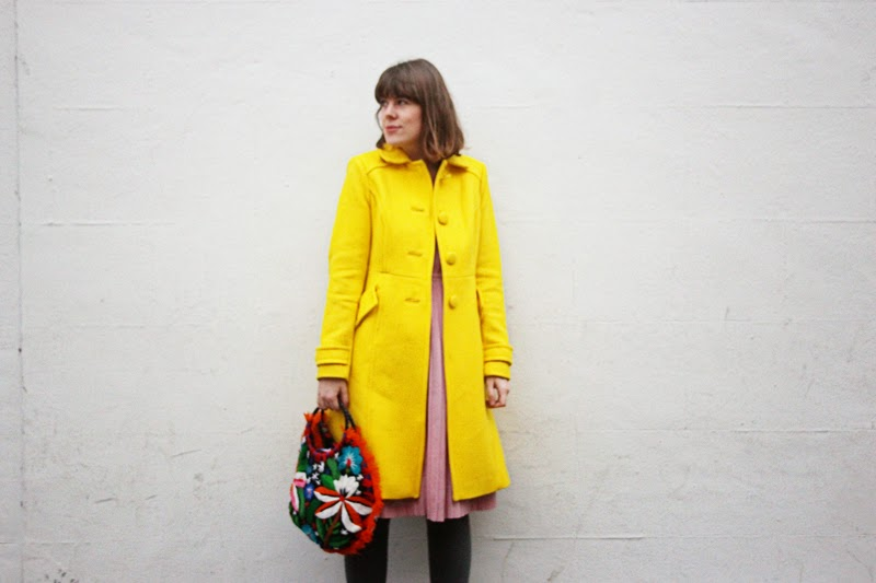 Tigerlilly quinn what mama wore yellow for Boden yellow coat