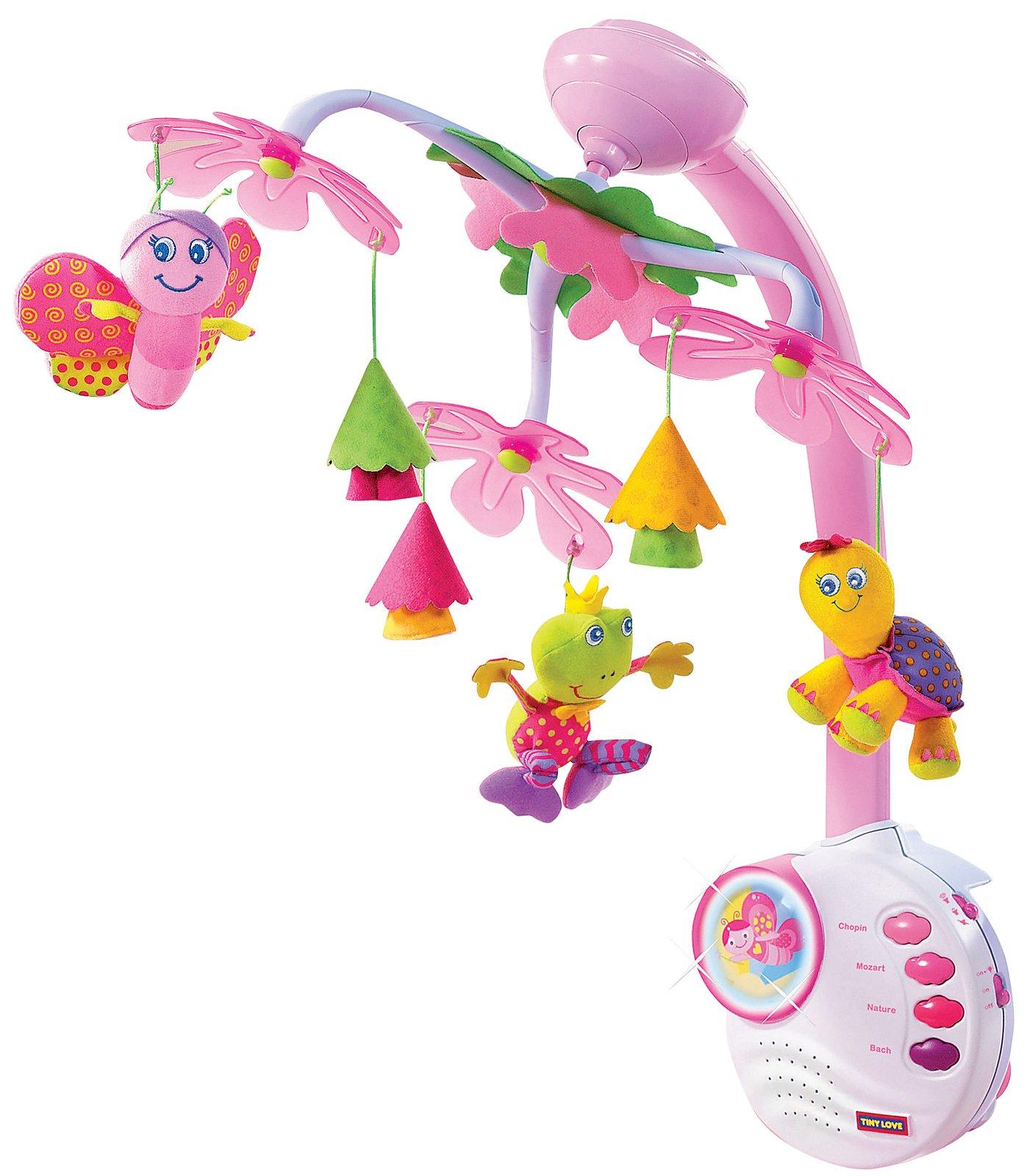 Mamamuhammad tiny love princess mobile for Princess crib mobile