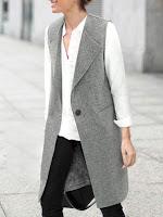 romwe sleeveless vest
