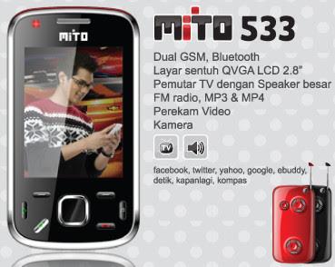 Mito 533 Harga Spesifikasi Review Kelemahan Kelebihan - Berita Handphone