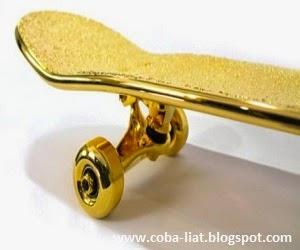 Skateboard termahal didunia